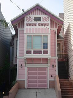 Pink House in the Castro District