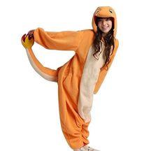 Pokemon Charmander Adult Pajamas