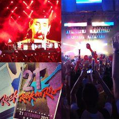 O show da vida. Rock in Rio 2013.
