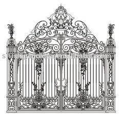 Top-selling Decorative Wrought Imperial Iron Fancy Gates Photo, Detailed about Top-selling Decorative Wrought Imperial Iron Fancy Gates Picture on Alibaba.com.