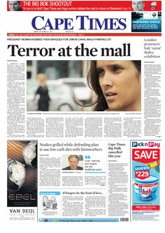 News making headlines: Pregnant woman robbed then dragged for 20m in Canal Walk parking lot