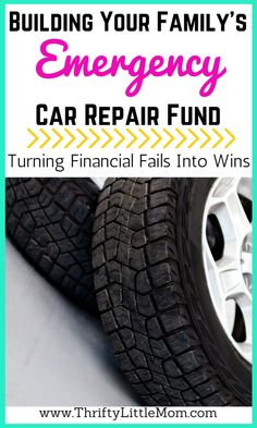 Does your #family have an #emergency #car #repair #fund? If not, here's why you should start building one to #savemoney down the road (pun intended!). #home #moneysavingtips