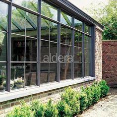 Orangerie - slanke alu profielen veranda  Steellook