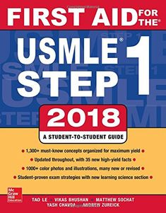 First Aid for the USMLE Step 1 2018 28th Edition Pdf Download e-Book