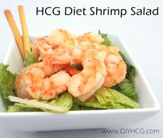 Try this HCG shrimp salad... you will love it! <3