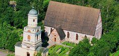 Church in Hollola, near by Lahti #church #sight #Lahti