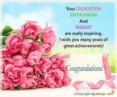 A beautiful congrats card ..