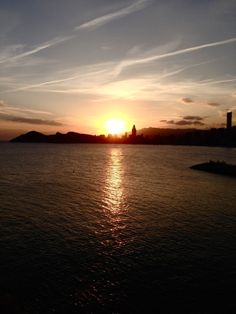 Benidorm sunset