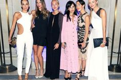 Carine Roitfeld's CR Launch Party at the Frick - The Cut courtins Clarins