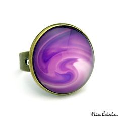 The ring of the day! More info at http://misscabochon.com #mc #photooftheday #jewellery #jewels #jewel #fashion #trendy #accessories #Statementring #bling  #fashionista #accessory #instajewelry #stylish #jewelrygram #fashionjewelry #ring #ringaddict #gem #trendy #stylist #styleblog #TagsForLikes #paris #jewelrygram #purple