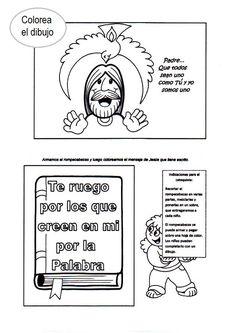 Fichas para conocer los Evangelios jugando:                         Colorea y aprende los libros que comp...