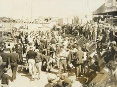 El Puerto, banquina de los pescadores - MDQ Marzo 1967 - Haynes Publishing Company Archive //Programa Archivos en Peligro - Biblioteca Británica // Endangered Archives Program -British Library