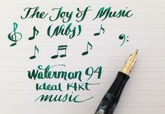 Handwritten Post - Music Nib Notes