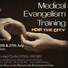 Medical evangelism training Willesden SDA church.