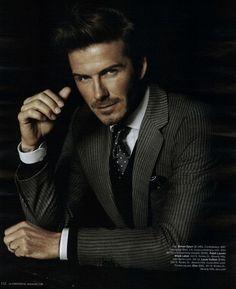 I think Beckham should be the next Bond, cuz no man looks better in a suit than Beckham!