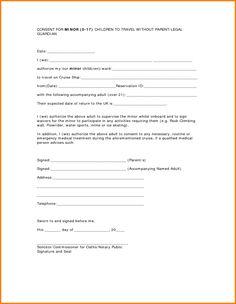 Consent for minor children to travel aaa fill online printable letter consent for travel minor child authorization pick passport pdf altavistaventures Images