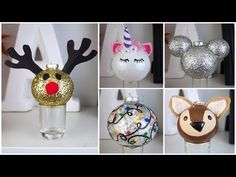7 CHEAP & EASY DIY CHRISTMAS ORNAMENTS | PINTEREST INSPIRED - YouTube
