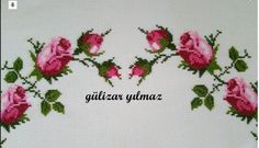 Discover thousands of images about Roses cross stitch. Cross Stitch Rose, Cross Stitch Embroidery, Cross Stitch Patterns, Diy And Crafts, Projects To Try, Creative, Karma, Tela, Cushion Pillow