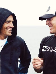 The Two Best Surfers Ever:  Kelly Slater, G.O.A.T.  Andy Irons, R.I.P. (Taken far too young.)