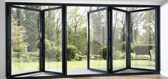 trifold windows either full length or half along one side or part of your tiny house