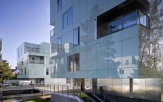 Airtec Glass Rainscreen cladding is a robust composite panel with heat-soaked thermally toughened safety glass. Rainscreen Cladding, Glass Facades, Safety Glass