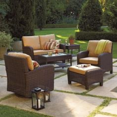 Kohl's - SONOMA outdoors Carmel Wicker Collection