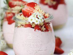 REZEPT: Erdbeer-Käsekuchen ohne Backen zubereitet