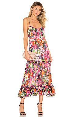 14b7ec9557b Shop for SALONI Bella Dress in Pink Rosette at REVOLVE.