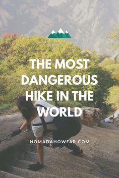 Don't Look Down: The Most Dangerous Hike In The World - Mount Hua Shan, China