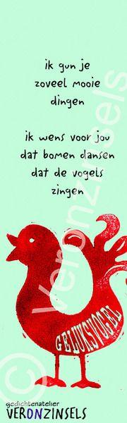 Boekenlegger Geluksvogel