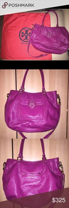 Tory Burch Amanda Hobo In great used condition. Purchased from Neimans at full price  Dust bag included Tory Burch Bags Hobos