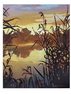 jan schmuckal artist   ... Jan Schmuckal Landscape 11x14 matted archival print - from the artist