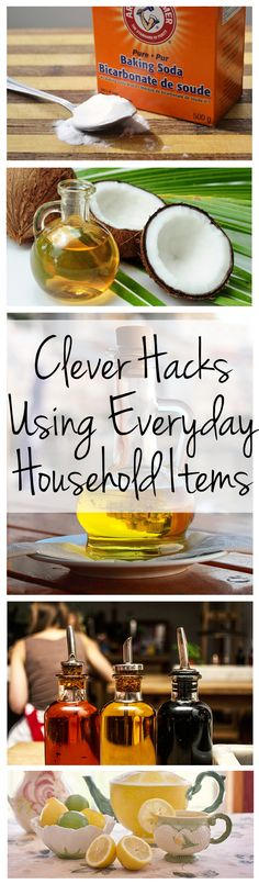 Clever Hacks Using Everyday Household Items