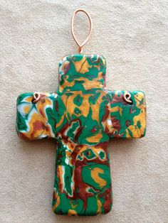 Shop for on Etsy, the place to express your creativity through the buying and selling of handmade and vintage goods. Wall Crosses, St Patrick, Blessing, My Etsy Shop, Christmas Ornaments, Unique Jewelry, Holiday Decor, Handmade Gifts, Design