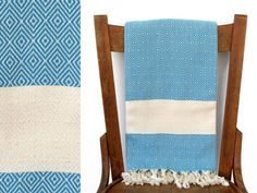 Turkish Towel from Cotton Cocoon 'Peshtemal' Beach Towel