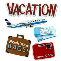 Jolee's Boutique® | Vacation Stickers  $4.39