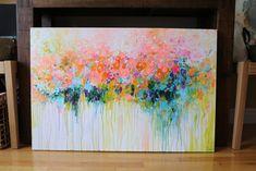 ORIGINAL abstract painting Abstract artabstract by mimigojjang