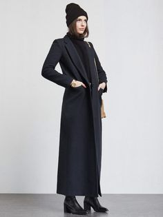 Winter and the art of the bundle. The Bonwick Coat is for those days when you…