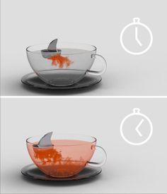 Tea infuser with some Taa-DA! Taa-DA! Taa-da-taa-da-taa-da...
