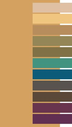 Oak Buff color palette for Dark Autumn
