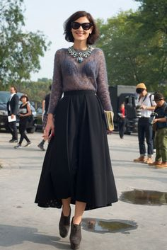 paris fashion week spring 2014 street style « fashionmagazine.com
