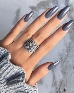The Acrylic Coffin Nail Designs Ideas are so perfect for 2018-2019! Hope they can inspire you and read the article to get the gallery. #AcrylicNails #CoffinNails #LongNails #JeweNails