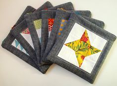 farmer's wife zip pouches by Spotted Stone Studio {Krista}, via Flickr