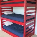Triple Bunk Beds: A super Space-Saving Solution!