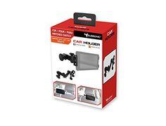 Support de voiture pour Nintendo Switch: Support permettant de fixer la console ou une tabellet aux appuis têtes. Avec bras articulé pour…
