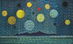 Sapņu sala (Parāde). 2013, audekls, eļļa, 145x240 cm.