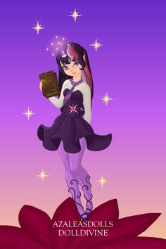 twilight sparkle ~ by purplevampire ~ created using the Pixie doll maker | DollDivine.com