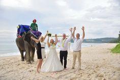 Phuket Beach Elephant Wedding Ceremony Package : Maria + Twan on November 10, 2015 | Thailand Marriage Planner and Organizer.