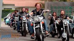 Bikie Wars - Brothers in Arms is a Showtime TV miniseries made for Network TEN. Its about the Milperra Massacre at the Viking Tavern, Milperra on Father's Day, Showtime Tv, Brothers In Arms, Network Ten, Tv Shows, Channel, War, Windmills, Movies, Mood