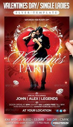 GraphicRiver Valentines Day / Single Ladies Flyer Template